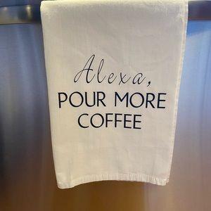 Set of 3 Alexa Kitchen Towels. Extra Lg Flour Sack